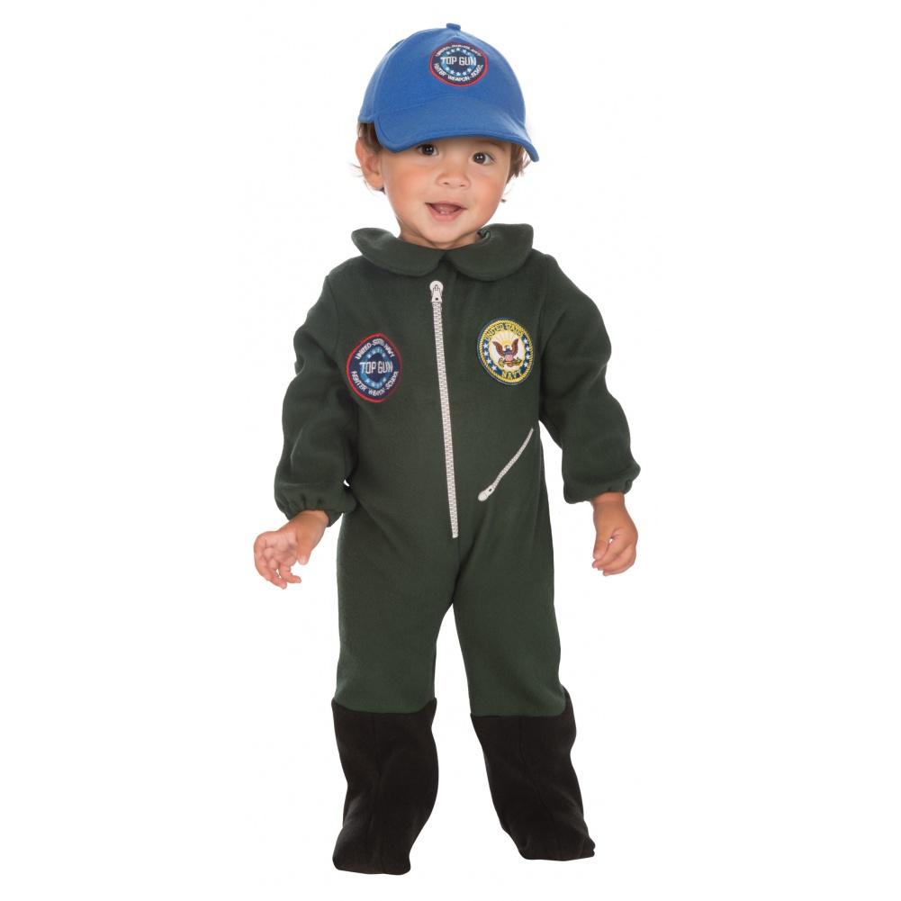 sc 1 st  7th Avenue Costumes & Top Gun Flight Suit Top Gun toddler costume