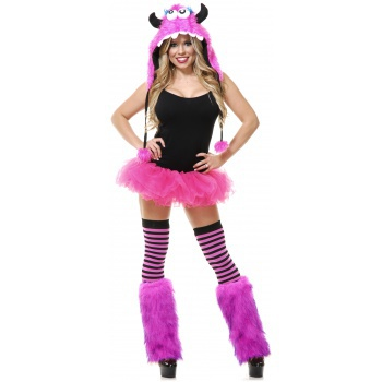 Bubblegum Monster Set rave costume image