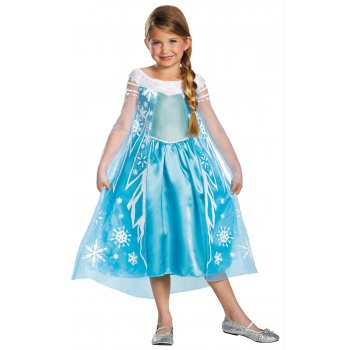 Elsa Deluxe deluxe Elsa costume for kids image