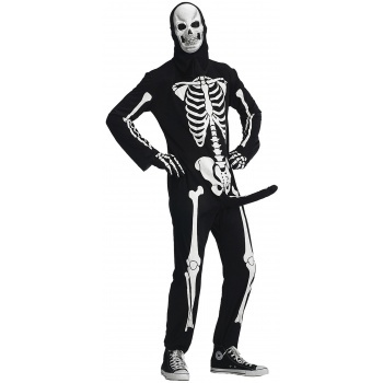 Mens Skeleton Halloween Costume