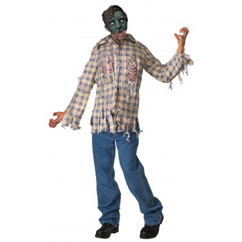 Fly Boy zombie costume image