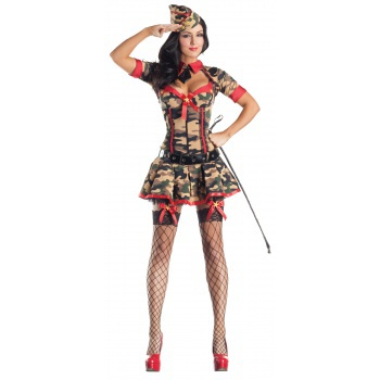Army Brat Body Shaper sexy Army girl costume image