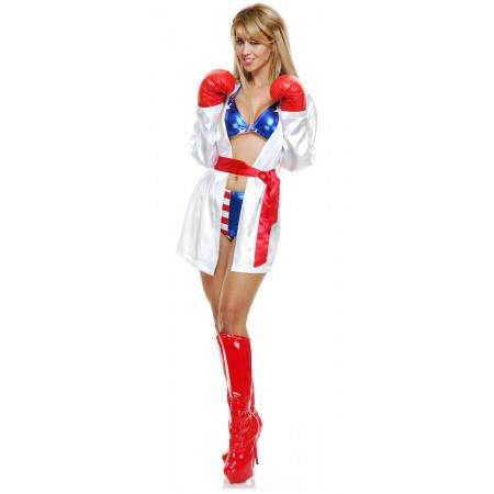 Boxer Halloween Costume For Women