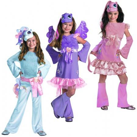 Костюм пони радуги для девочки