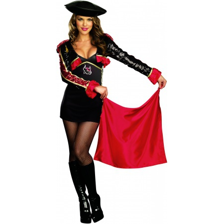 No Bull Matador Spanish Toreador Bullfighter Costume