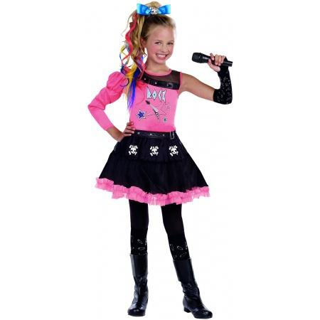 Punk Rock Girl Halloween Costume