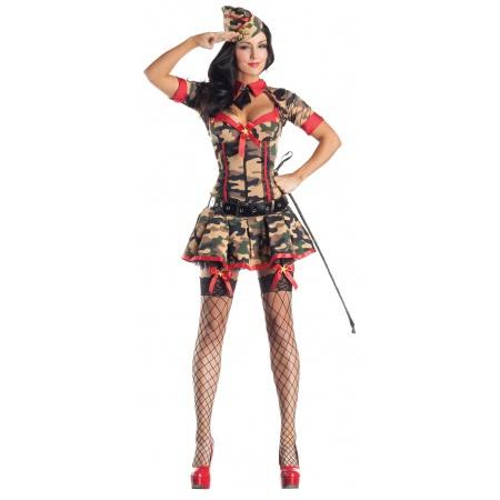 Army Brat Body Shaper sexy Army girl costume image