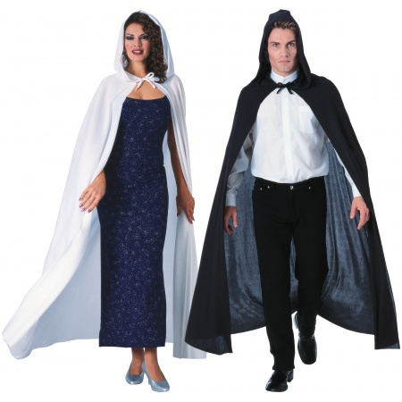 Hooded Cloak full length hooded cloak image