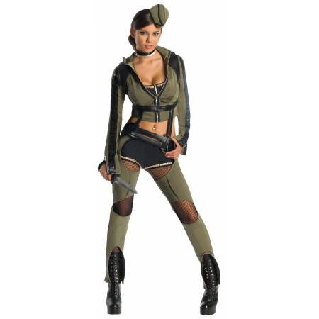 Amber Cosplay Military Flight Suit Costume image
