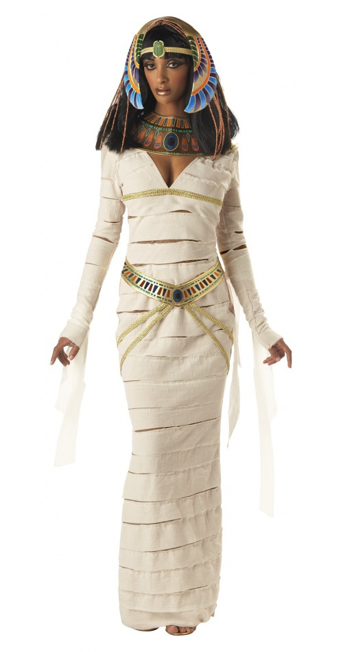 mummy queen egyptian cleopatra nefertiti costume