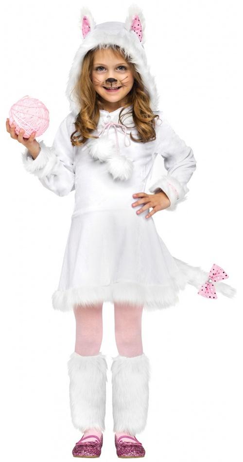 Костюм кошечки для девочки на новый год своими руками