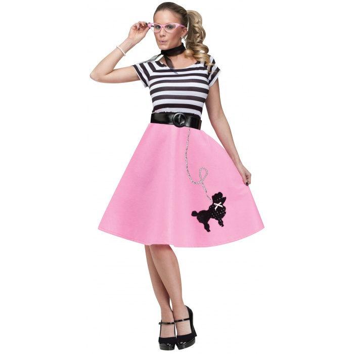 50s Poodle Dress Costume