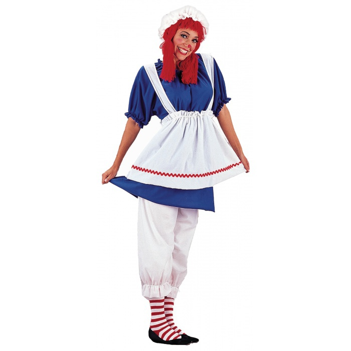 Raggedy ann adult costumes
