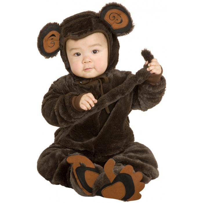 Plush Monkey monkey costume