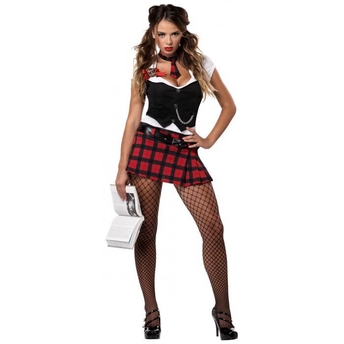Reform School Rebel Schoolgirl Girl Costume