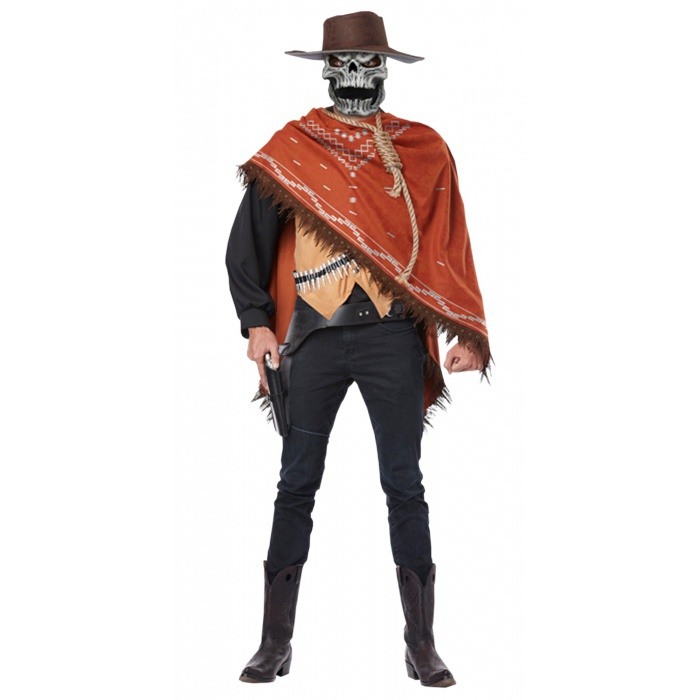 Skeleton cowboy costume - photo#2