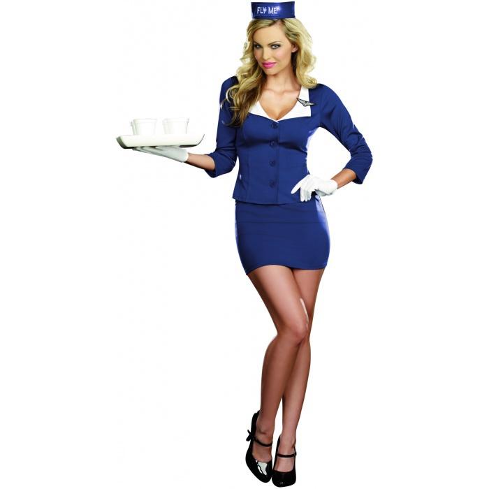 Sexy flight attendant costume