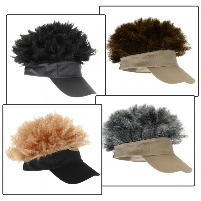 how to wear a hat with an afro