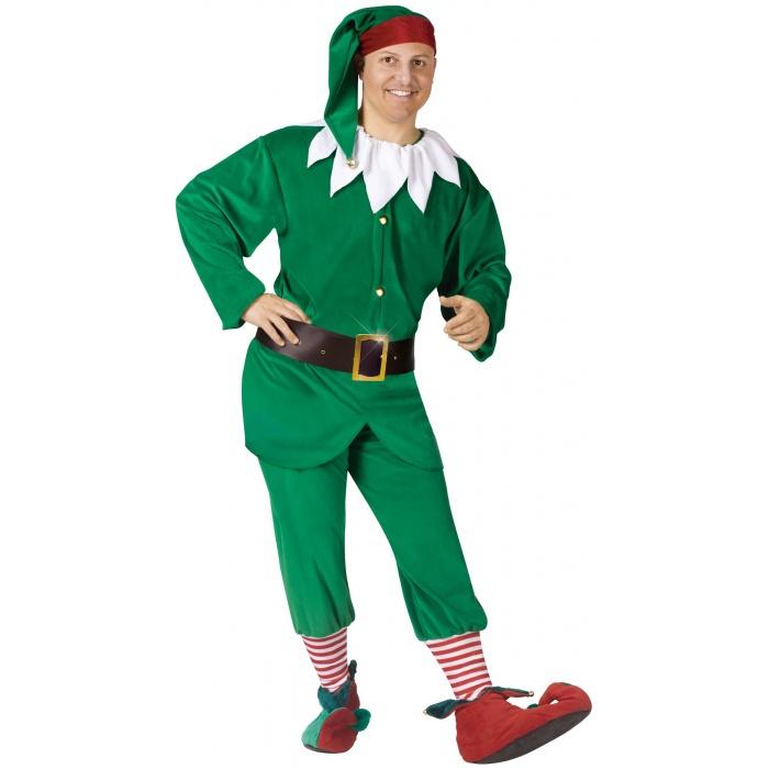 Adult elf set costume image