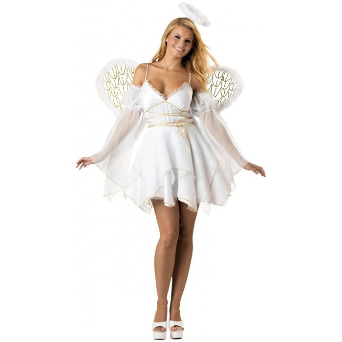 Heaven Sent White Angel Costume