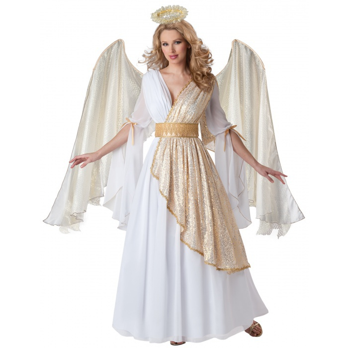 Heavenly angel christmas costume