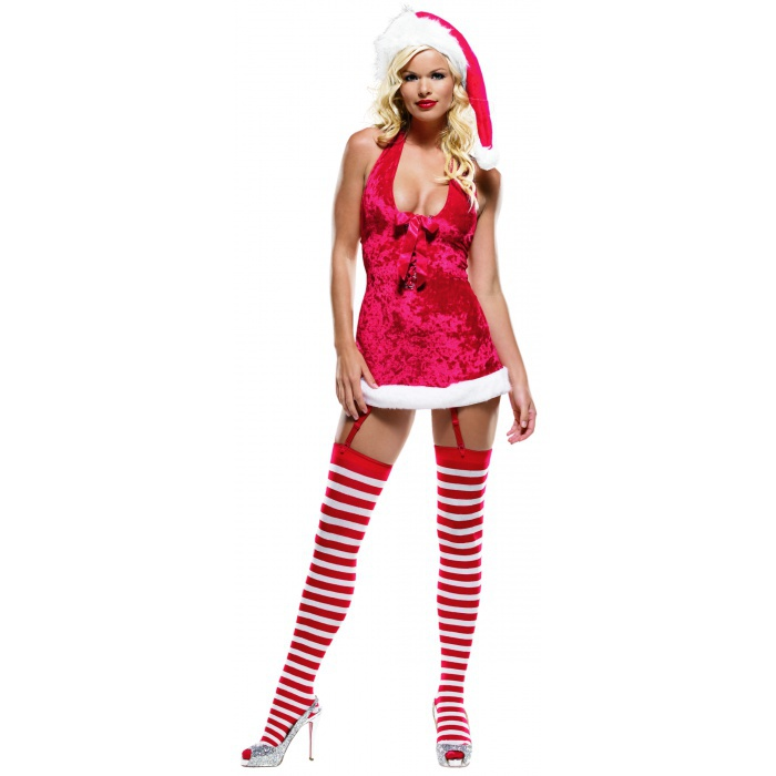 Miss claus sexy christmas costume