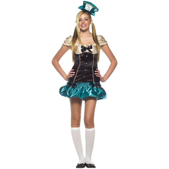 Tea Party Hostess Mad Hatter Costume
