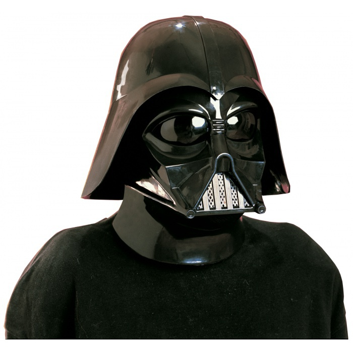 Darth Vader 2 Piece Mask Sith Lord Helmet Costume Accessory