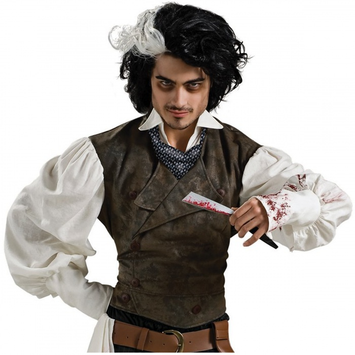 Sweeney Todd Wig Victorian Demon Barber Johnny Depp Costume Accessory ...