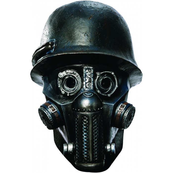 Deluxe Gas Mask Zombie Scary Costume Accessory