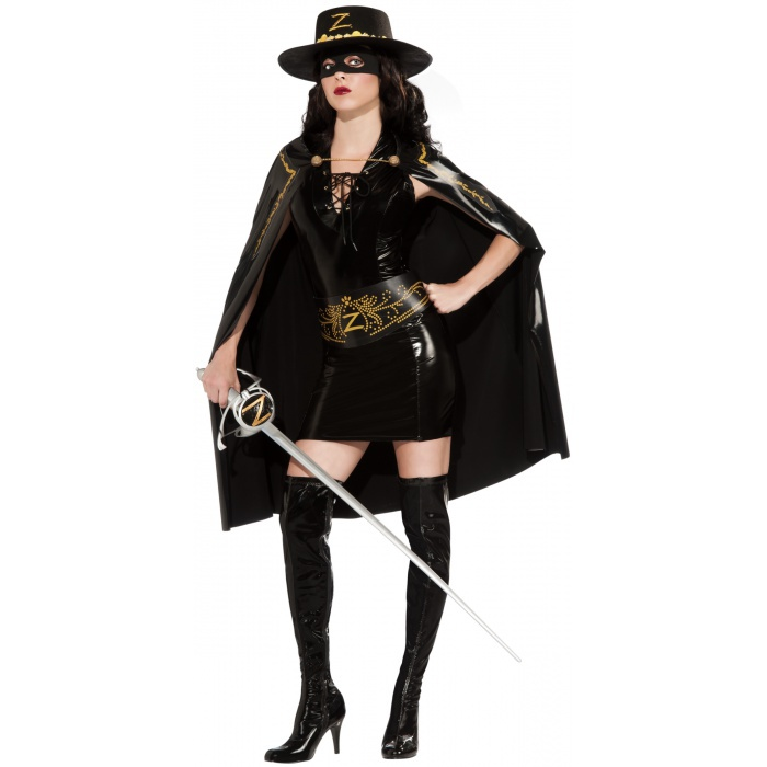 Lady Zorro Costume Adult Womens Zorro Product DescriptionZorro Costume For Women