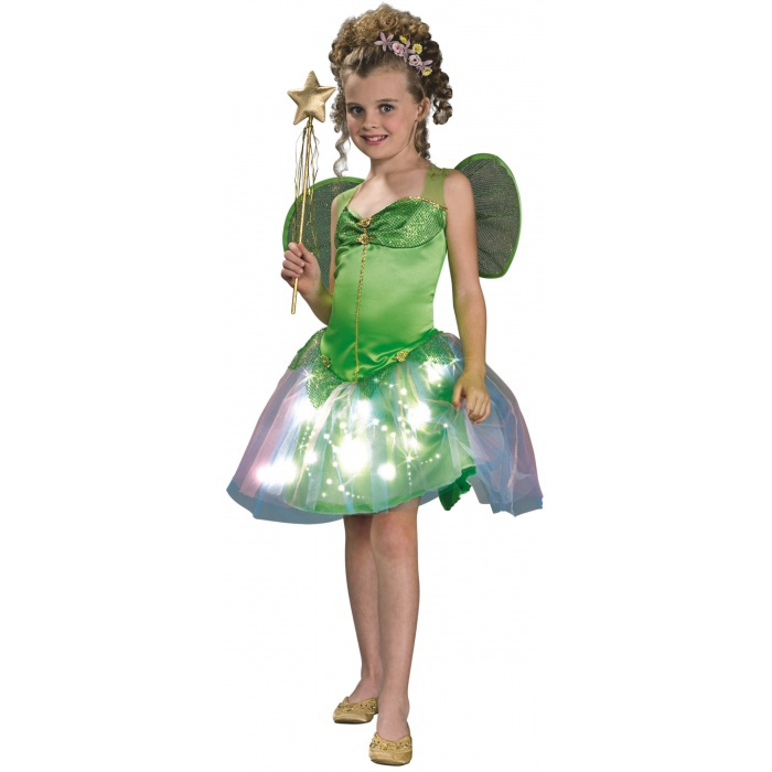 Fairy Green Tinkerbell Light-Up Costume