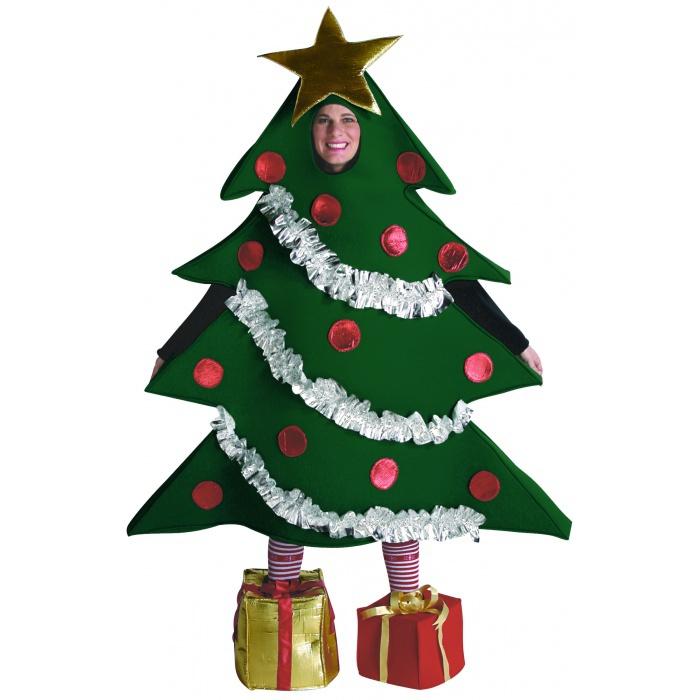 Christmas Tree Dress Costume: Christmas Tree Adult Christmas Tree Costume