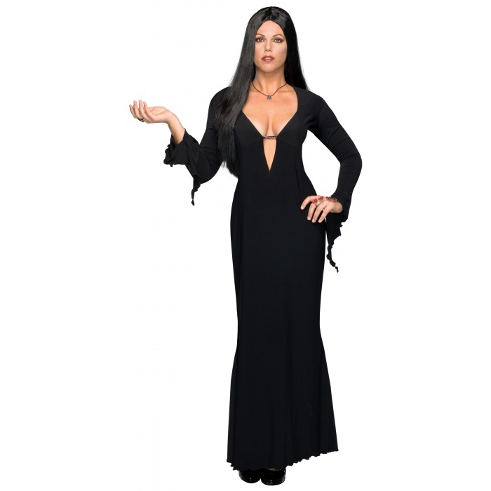 morticia plus size morticia addams costume. Black Bedroom Furniture Sets. Home Design Ideas