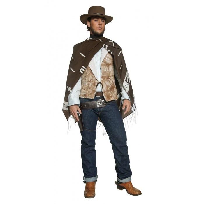 Wandering Gunman Clint Eastwood poncho costume