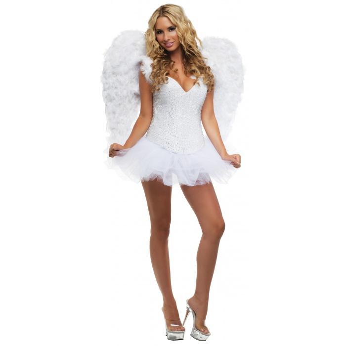 Signature White Angel Costume image