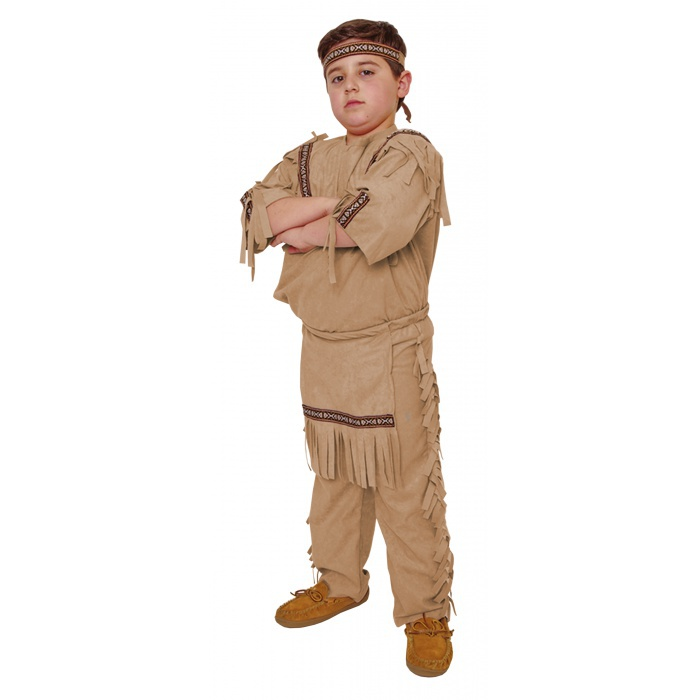 Indian Boy Costume Child Boys Native American Product DescriptionNative American Boy Costume