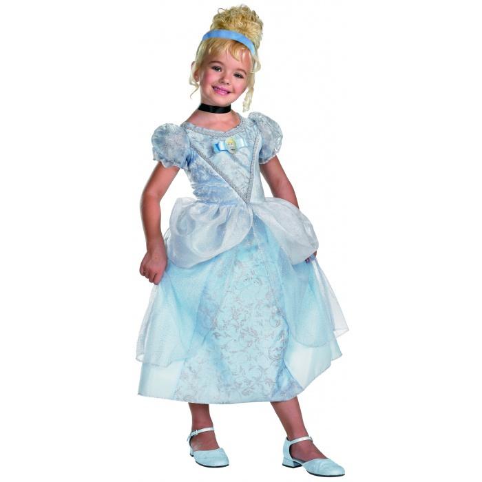 Little Adventures Deluxe Cinderella Costume: Deluxe Cinderella Dress-Up Costume