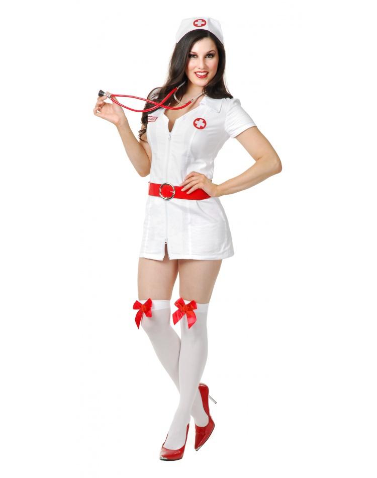 Caretaker Cutie 4pc Sexy Nurse Costume