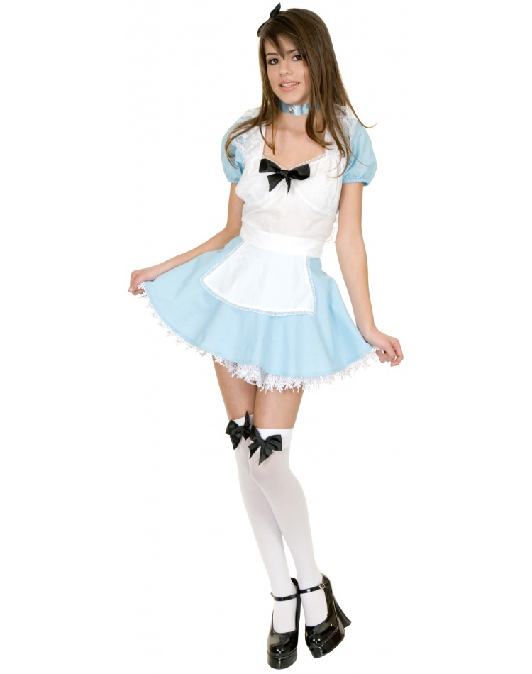 Alice In Wonderland Teen Costume 13