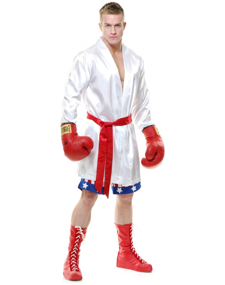 The Boxer boxing robe costume