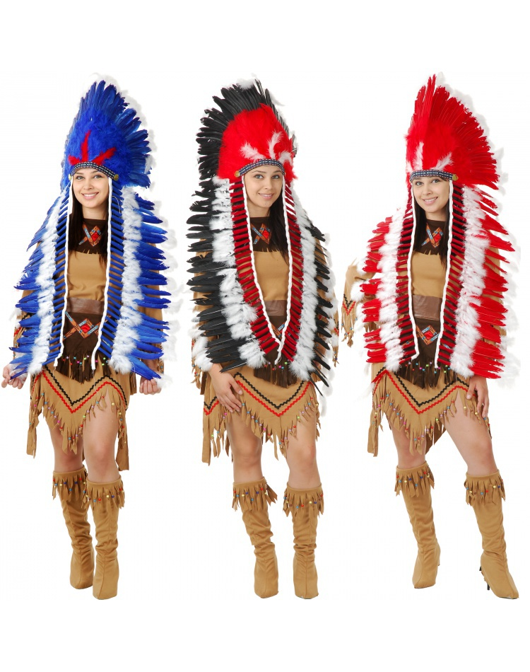 Indian Headdress Costume Accessory  sc 1 st  7th Avenue Costumes & Indian Headdress indian chief headdress