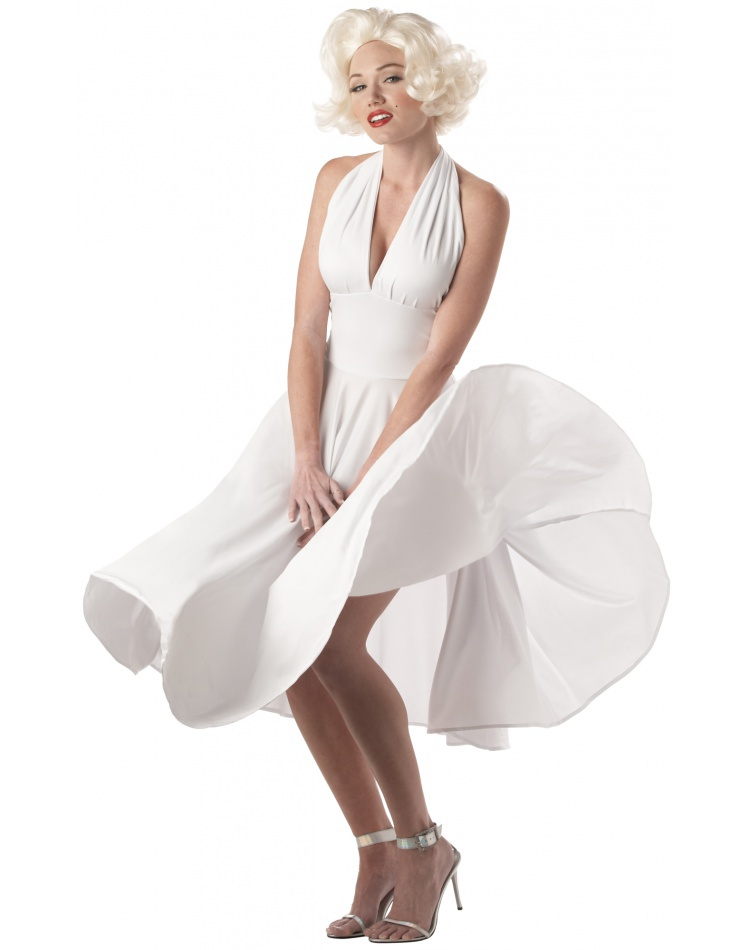 Sexy Marilyn Monroe 50s pin up girl costume