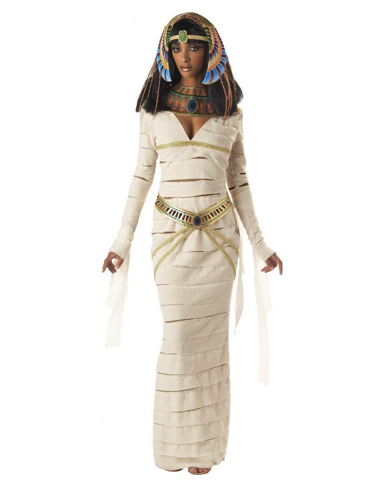 mummy queen egyptian cleopatra nefertiti costume
