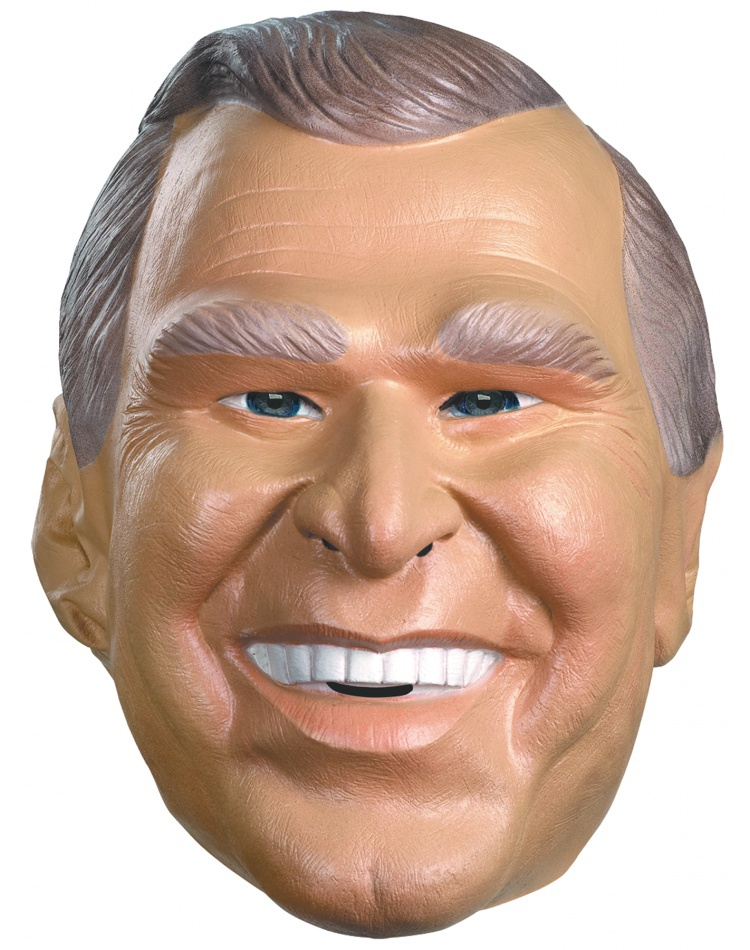 President George W Bush Political Republican Costume Mask