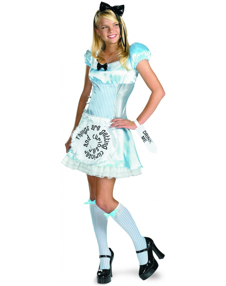 Alice Tween Alice In Wonderland Costume