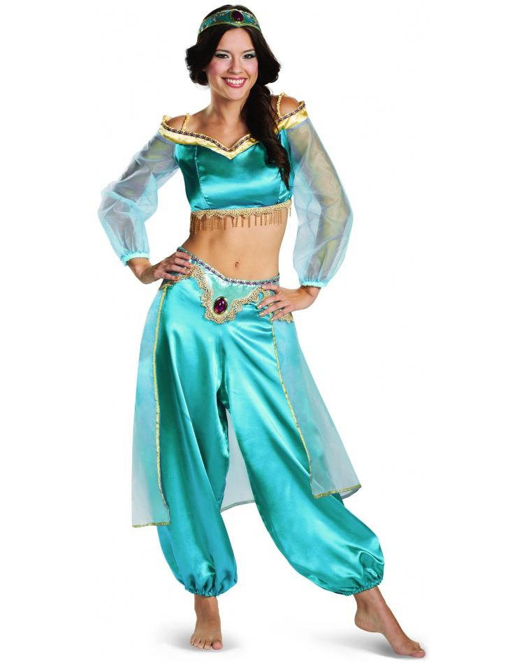 Jasmine Sassy Prestige Aladdin Costume