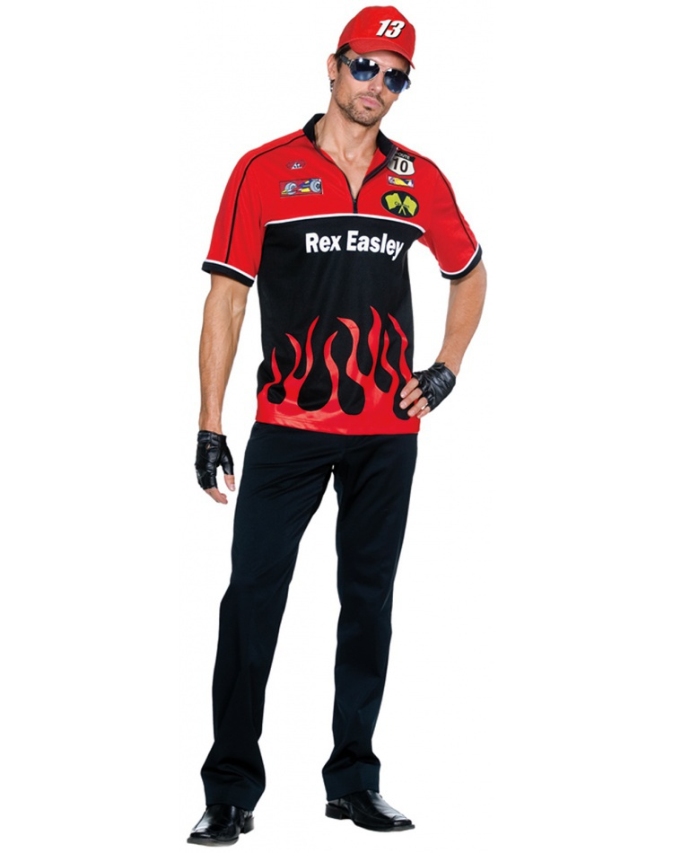Rex easley race car driver racing racecar costume for Race car driver t shirts