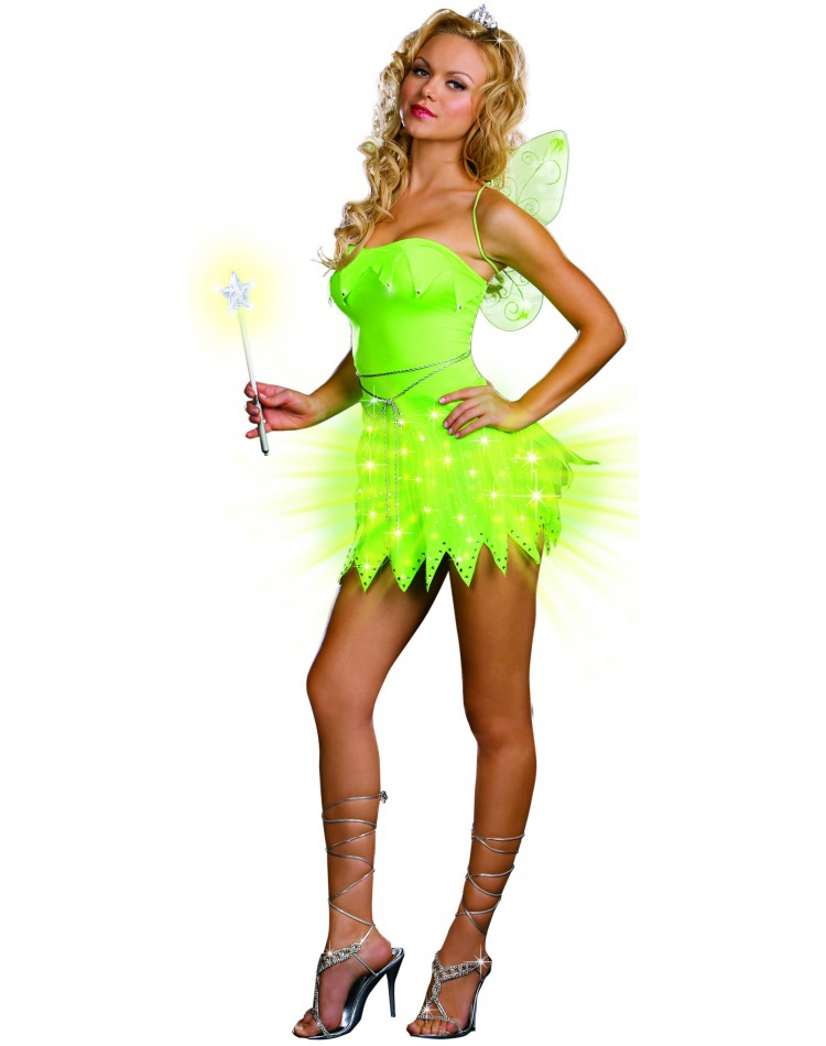 Bright Sprite Light-Up Fairy Tinkerbell Costume