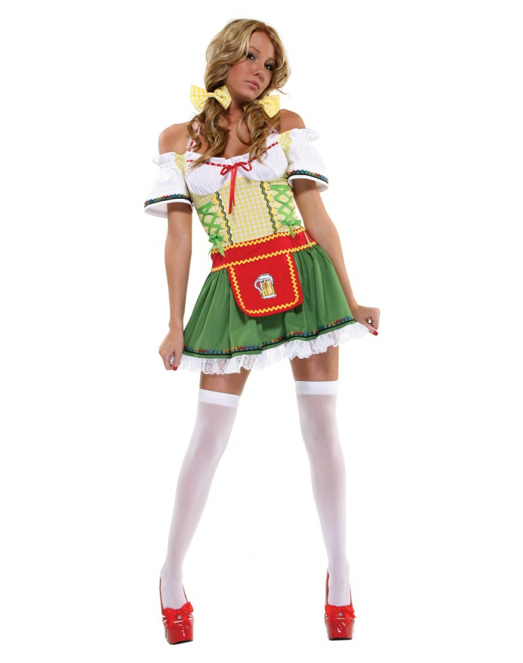 beer costume Irish girl